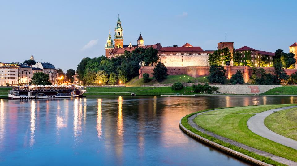 Panorama Kraków Wawel